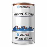 WOOD GLOSS Vernice bicomponente brillante ml.0,750